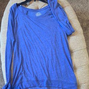 Lightweight Blue Sweatshirt